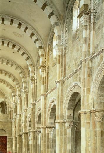 Vezelay, Burgundy, France : Stock Photo