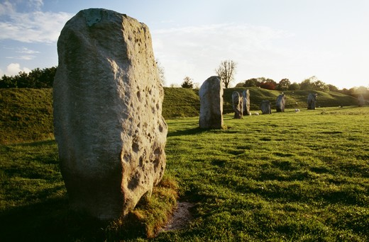 Avebury, Wiltshire, England : Stock Photo