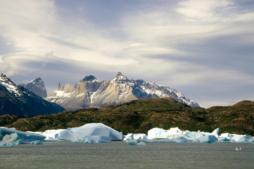 Torres Del Paine, Magallanes, Chile : Stock Photo