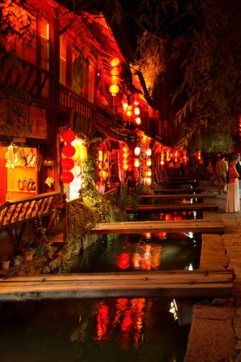 Lijiang, Yunnan, China : Stock Photo