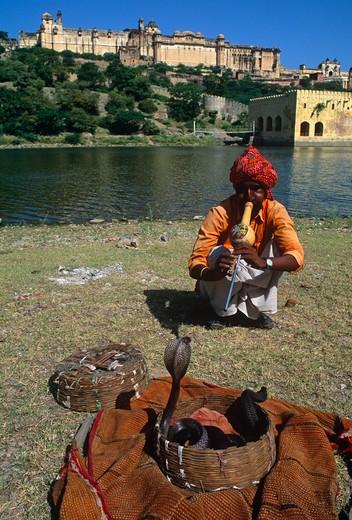 Stock Photo: 4192-3327 Jaipur, Rajasthan, India