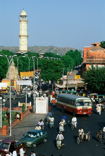 Stock Photo: 4192-3379 Jaipur, Rajasthan, India