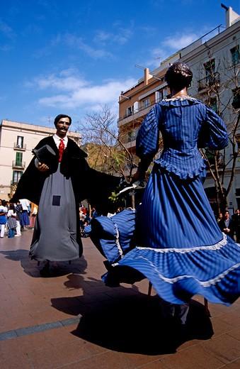 Stock Photo: 4192-3385 Barcelona, Spain