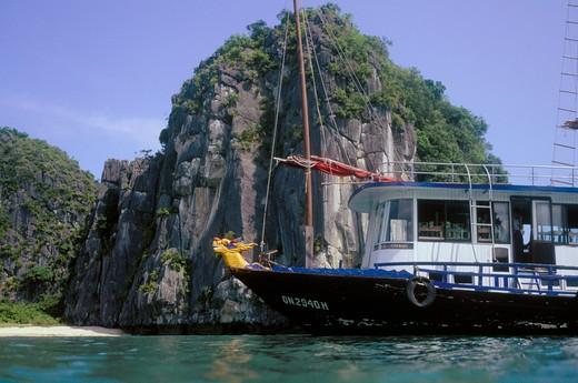 Stock Photo: 4192-3436 Ha Long Bay, Vietnam