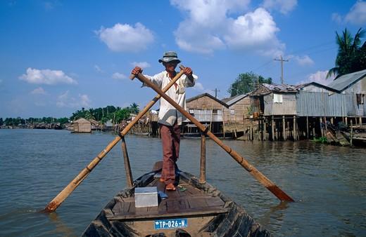 Can Tho, Vietnam : Stock Photo