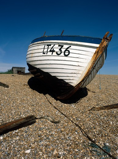 Dunwich, Suffolk, England : Stock Photo