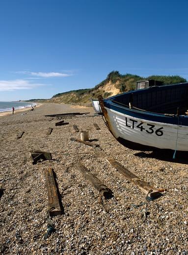 Dunwich, Suffolk, England : Stock Photo