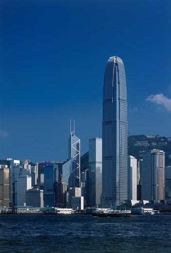Hong Kong Island, Kowloon, Hong Kong : Stock Photo