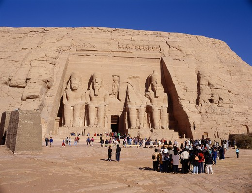 Abu Simbel, Egypt : Stock Photo