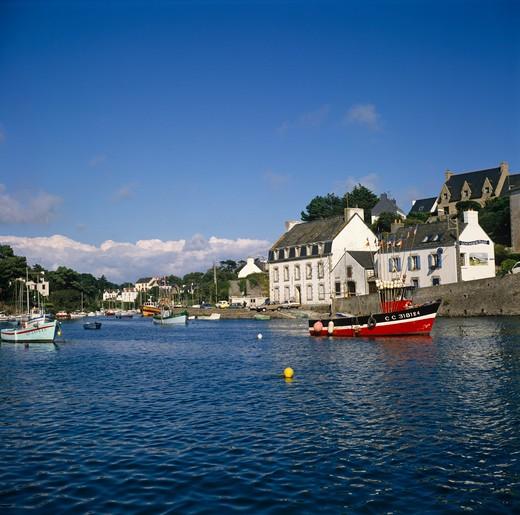 Stock Photo: 4192-4469 Douarnenez, Brittany, France