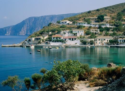 Assos, Kefalonia, Greece : Stock Photo
