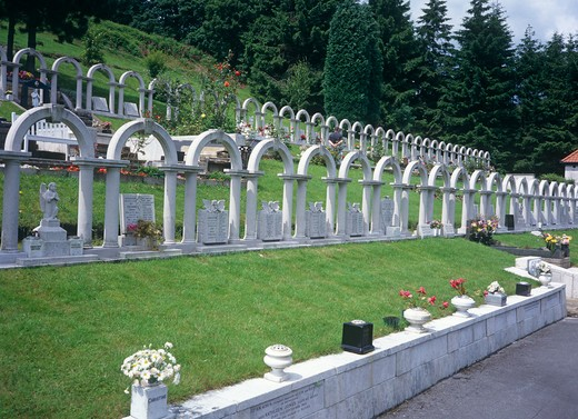 Aberfan, Gwent, Wales : Stock Photo