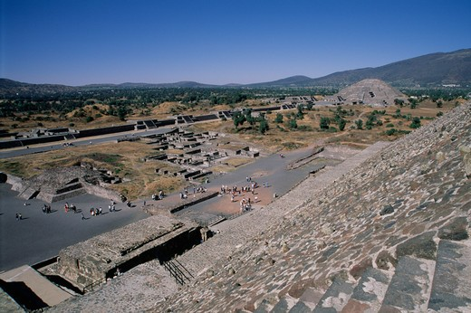 Teotihuacan, Mexico State, Mexico : Stock Photo
