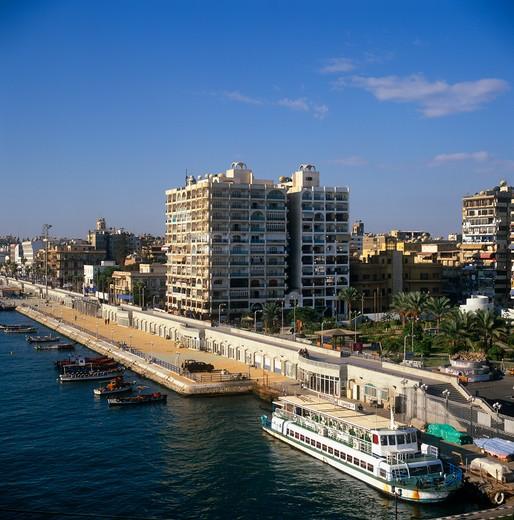 Port Said, Egypt : Stock Photo