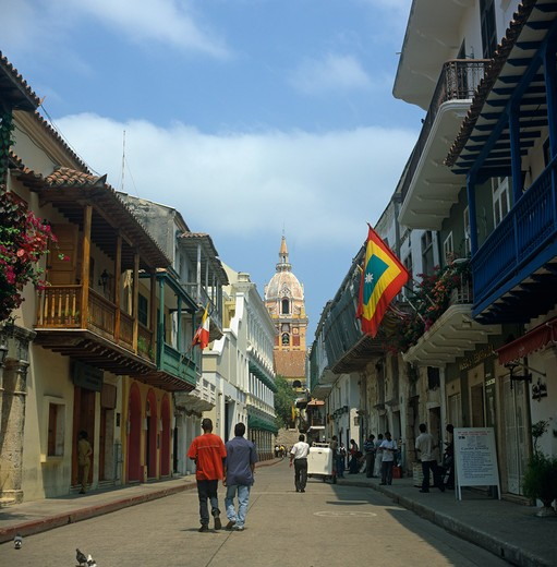 Cartagena, Colombia : Stock Photo