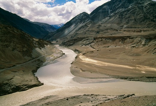 Rivers, Ladakh, India : Stock Photo