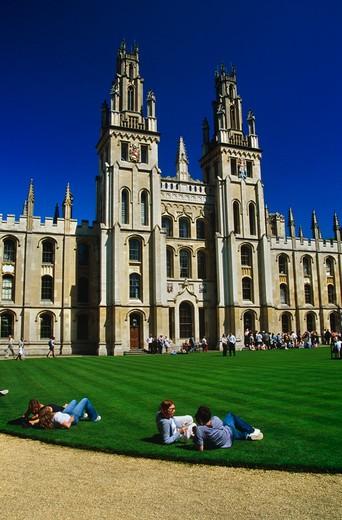 Oxford, Oxfordshire, England : Stock Photo