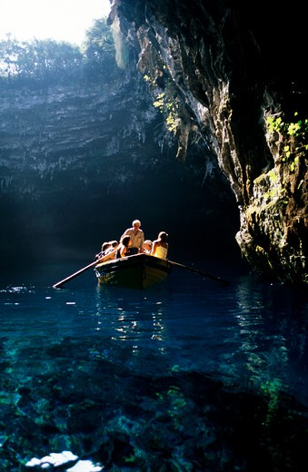 Stock Photo: 4192-7522 Melissani, Kefallonia, Greece