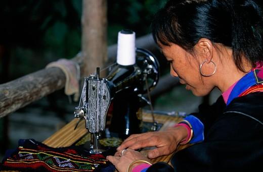 Yau Community, Guangdong Province, China : Stock Photo