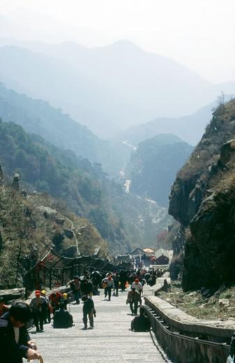 Stock Photo: 4192-7927 Mount Tai Shan, Shandong, China