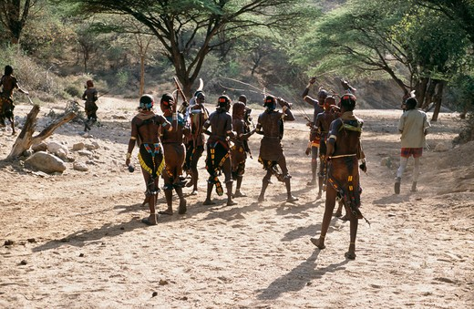 Stock Photo: 4192-8181 Hamar Tribe, Ethiopia