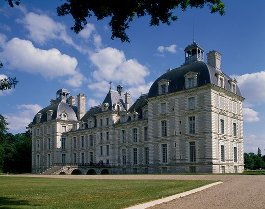 Stock Photo: 4192-8654 Chateau De Cheverny, Loire Valley, France