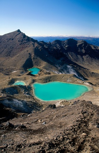 Tongariro, North Island, New Zealand : Stock Photo