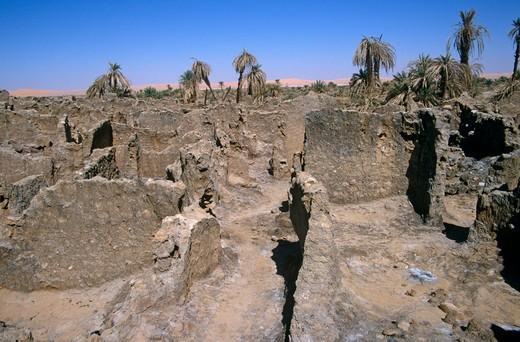 Germa, Libya : Stock Photo