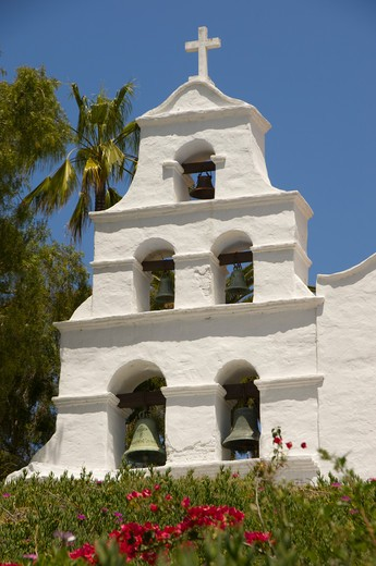 Mission San Diego Alcala in San Diego, California : Stock Photo