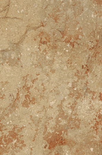 natural sandy rock surface with red iron accents : Stock Photo