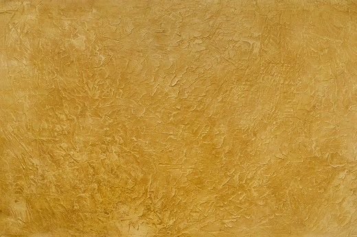 Stock Photo: 4193R-1749 Tuscan gold plastser wall background