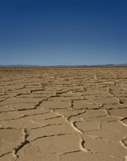 Salt flats near Death Valley : Stock Photo