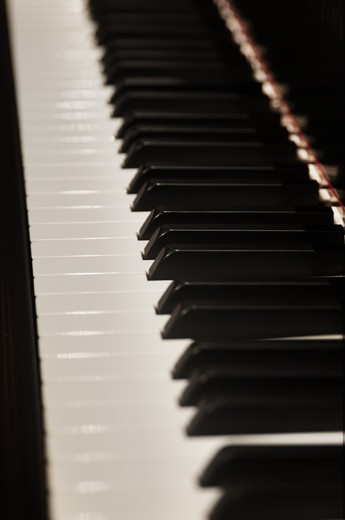 Stock Photo: 4193R-950 Pianio Keys