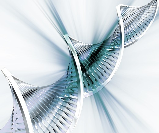 Abstract DNA background : Stock Photo