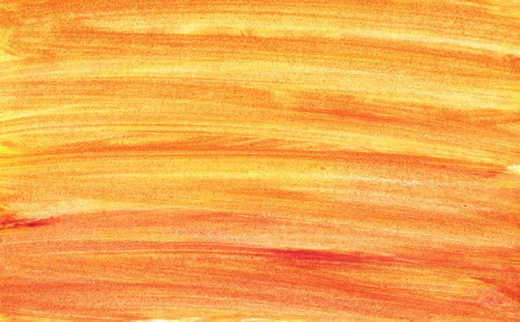 Hand painted orange gradient background : Stock Photo