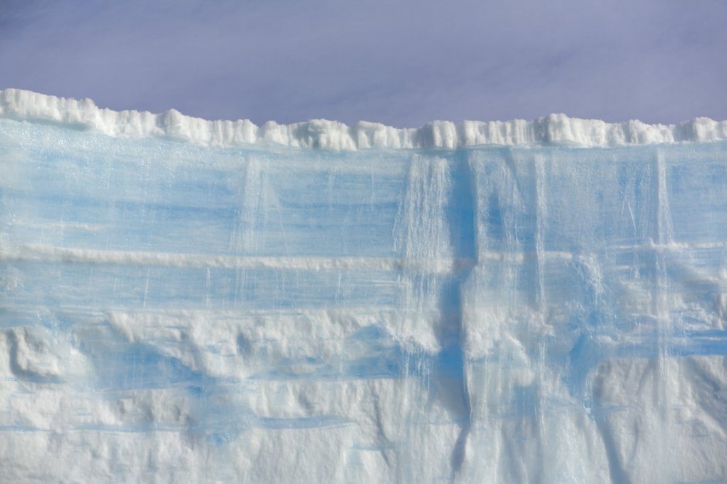 Stock Photo: 4201-41901 Massive blue and white iceberg, South Georgia Island