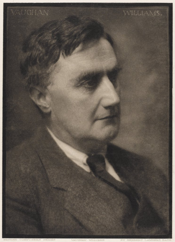 RALPH VAUGHAN WILLIAMS composer.         Date: 1872 - 1958 : Stock Photo