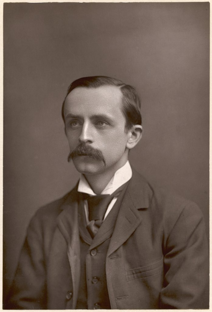 SIR JAMES MATTHEW BARRIE  Scottish novelist and  dramatist probably best known  for writing Peter Pan      Date: 1860 - 1937 : Stock Photo