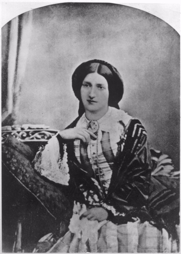 Stock Photo: 4220-3456 ISABELLA MARY BEETON journalist, publisher and author of seminal work on household management       Date: 1836 - 1865