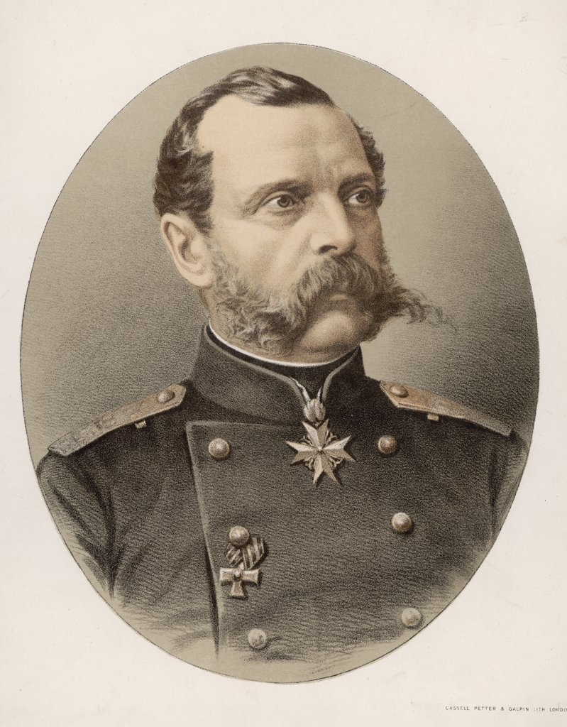 Stock Photo: 4220-3728 TSAR ALEXANDER II  Tsar of Russia (1855-81)       Date: 1818 - 1881