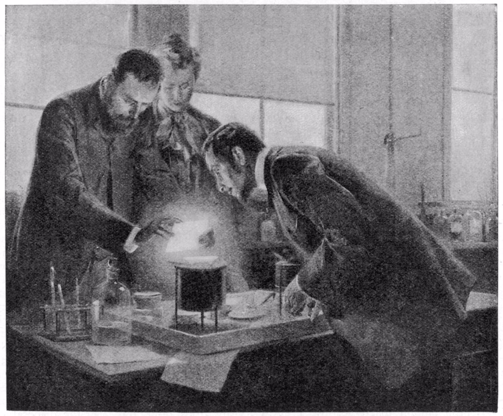 Stock Photo: 4220-3887 in their laboratory, Paris