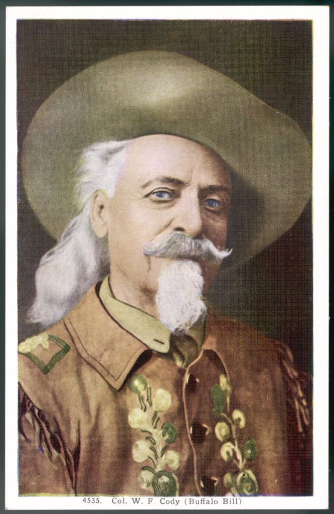 Stock Photo: 4220-3906 colonel WILLIAM FREDERICK CODY aka 'Buffalo Bill'  frontiersman & showman