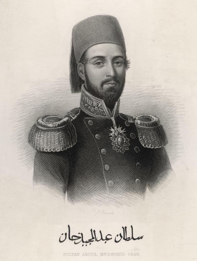Abdul Mecid I (or Mejid, Medschid), Ottoman Sultan (ruled 1839-1861). : Stock Photo