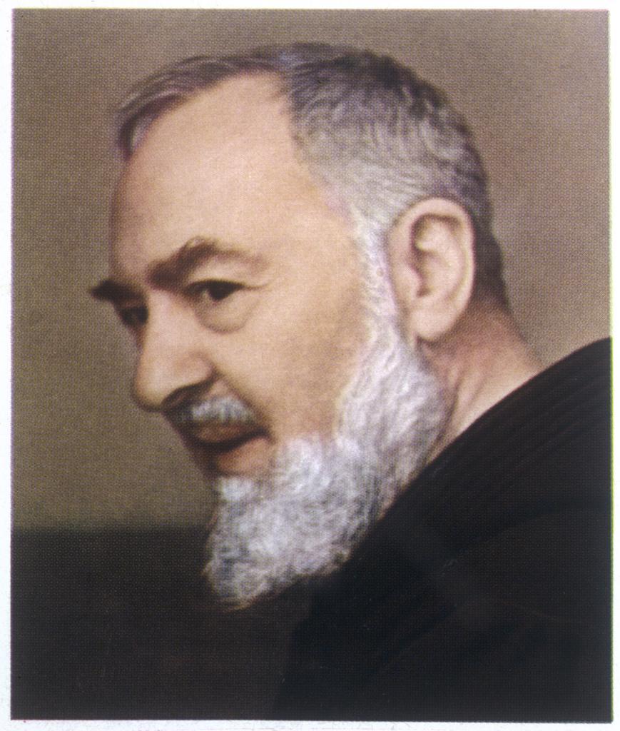 Francesco Forgione, name in  religion Pio de Pietrelcina,  known as 'PADRE PIO', Capucin  friar : Stock Photo