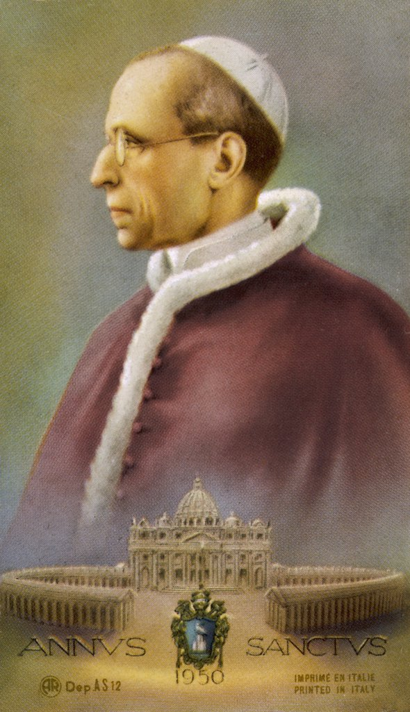 POPE PIUS XII (Eugenio Pacelli) in 1950 : Stock Photo