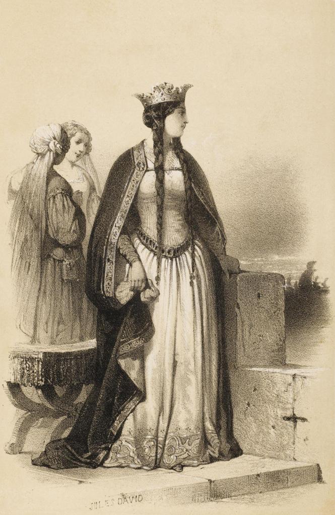 Stock Photo: 4220-4424 MATILDA OF FLANDERS queen of William I, the Conqueror