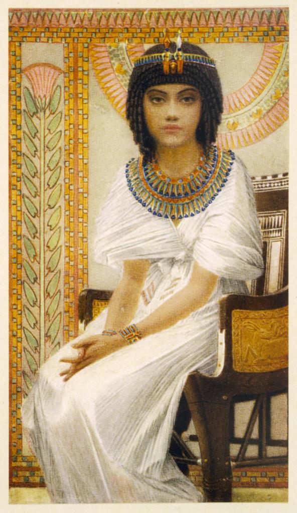 Stock Photo: 4220-4536 QUEEN ANKHESENAMUN queen of Tutankhamun (18th dynasty)