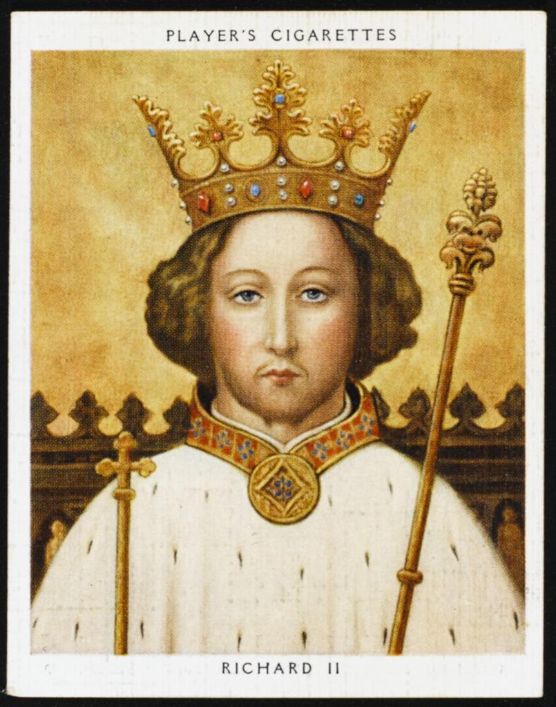 Stock Photo: 4220-4648 RICHARD II, KING OF ENGLAND (1367 - 1400) Reigned 1377 - 1399