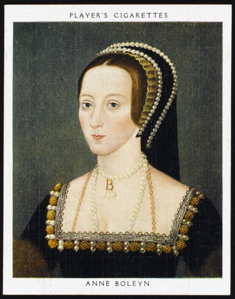 Stock Photo: 4220-4653 ANNE BOLEYN  Second Queen of Henry VIII from 1533 until 1536