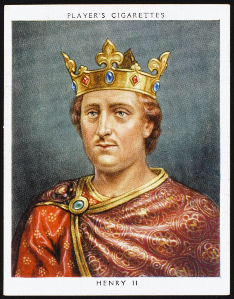 Stock Photo: 4220-4660 HENRY II (1133 - 1189) Reigned 1154 - 1189